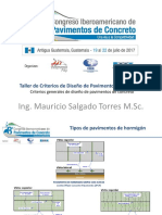 1. Criterios Generales de Diseo de Pavimentos de Concreto