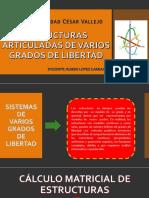 Sistemas de Varios Grados de Libertad