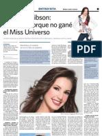 Entrevista Marelisa Gibson 6to Poder