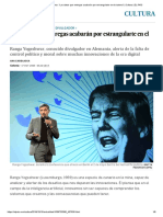 """Ranga Yogeshwar_ """"Los Datos Que Entregas Acabarán Por Estrangularte en El Sistema"""" _ Cultura _ EL PAÍS"""