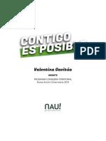 Valentina Gacitúa Consejería territorial