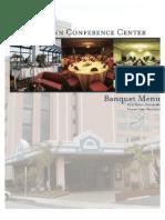 Holiday Inn Oceanfront Conference Center Banquet Menu