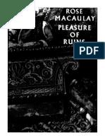 Macaulay, Rose - The Pleasure of Ruins.pdf