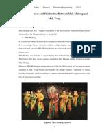 The Differences and Similarities Between Mek Mulong and Mak Yong
