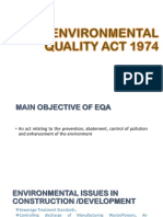 Environmental Quality Act 1974