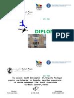 Diploma Ziua Scolii 1.