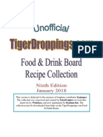 F & D Board Cookbook v.9