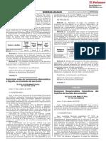 391113373 Autorizan Viaje de Funcionario Diplomatico a Espana en Comision de Servicios