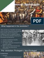 Presentation Mexican Revolution
