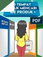 """[2] 10 """"TEMPAT"""" UNTUK MENCARI IDE PRODUK.pdf"""