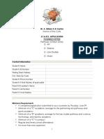 academy application-- arts  1