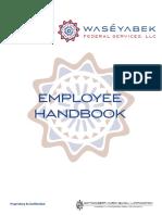 WFS Employee Handbook 2018
