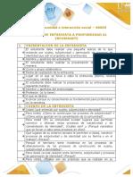 Presentación entrevista a profundidad a informante y matriz comparativa