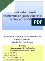 Elaboration d Un Plan de Financement en FT