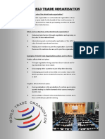 Wto Poster