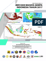Buku Peta Gempa 2017
