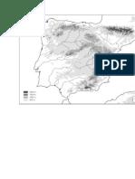 Mapa Relieve España