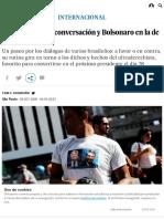 Cada Uno Con Su Conversación y Bolsonaro en La de Todos _ Internacional _ EL PAÍS