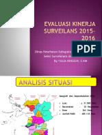 Evaluasi Surveilans Ketapang