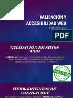 Validación y accesibilidad web