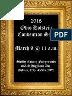 0hio Holstein 2018 Convention Sale Catalog