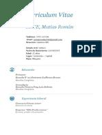 CV Arce Matias Roman
