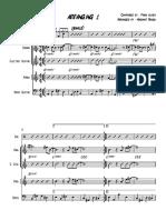 Arranging 1 - Score and Parts