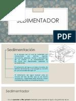 EXPOSICION SEDIMENTADOR