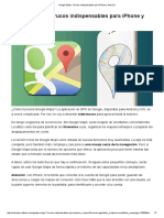 Google Maps_ 7 Trucos Indispensables Para iPhone y Android
