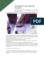 Predimensionamiento de Puentes Mixtos Tipo Cajón