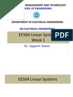 EE504 Lecture Slides Week 1