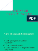 Spanish Colonial System