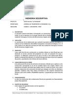 Memoria Descriptiva - Bote Motor Poseidon