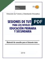 Sesiones de Tutoria Para Educacion Primaria y Secundaria Ccesa007