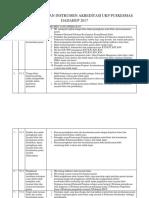 Daftar Keperluan Instrumen Akreditasi Ukp Puskesmas Dadahup 2017