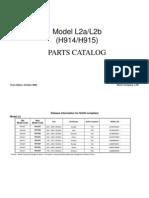 Parts Catalog Fax1130l, Fax1170l, Sl315 Sl350