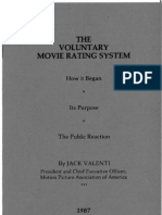 The Voluntary Movie Rating System (1987)