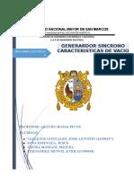 Informe Generador Sincrono-maquinas II