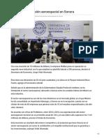 17-09-2018 - Continúa la Inversión Aeroespacial en Sonora - Tvpacifico