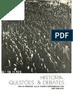 Jorn Rusen - Conscientização histórica frente a pos-modernidade