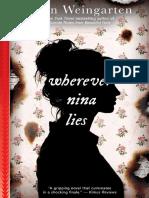 Wherever Nina Lies (Point Paperbacks)