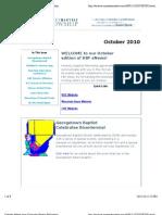 October 2010 KBF eNewsletter