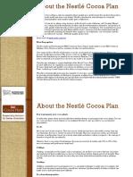nestle cocoa plan