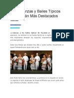 danzas tipicas de yucatan