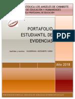 Esquema de Portafolio 2018