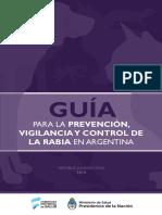 Guía Prevención, Vigilancia y Control de La Rabia