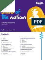 Stroke Statistics 2018