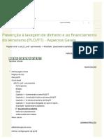 ESAF - Questionário Avaliativo 2 GABARITO (Sem Cabeçalho) - ESAF - Prevenção à Lavagem de Dinheiro e Ao Financiamento Do Terrorismo (PLDFT)