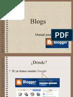 Resumen Manual Blogger