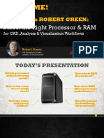 Processor & RAM AutoCAD